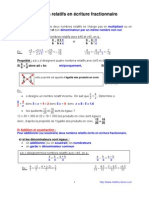 relatifs en écriture fractionnaire (4ème)