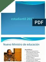 Proyección movimiento estudiantil 2012