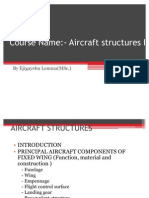 Aircraft Structures I Chapter-1