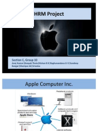 hrm final ass apple human resource management assesment apple   human resource management assesment skip carousel document apple computer inc hrm project ppt