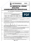 Prova 1 - Analista Ambiental Junior - Biologia