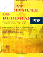 The Great Chronicle of Buddha (Volume2, Part I )