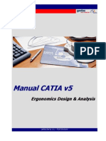 CATIA - Ergonomics Design & Analysis - Catia V5R16 (40pg.) ESP
