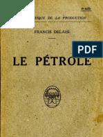 Delaisi Francis - Le Pétrole (1921)