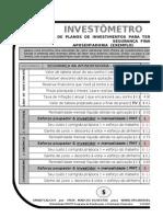 1102251009 SMARTCALCS INVESTOMETRO Calculadora de Investimentos Mais Dinamicos MSExcel 2003
