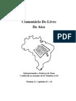 Estudo Livro Atos PDF