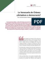 La Venezuela de Chávez
