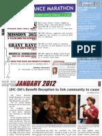 UNC-DM January 2012 Newsletter
