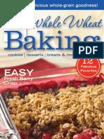 Whole Wheat Baking Cookbook