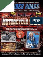 Thunder Roads Virginia Magazine - January 2012