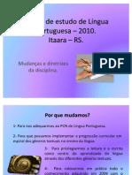 Planos de estudo 2010