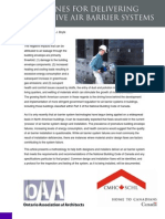 Guidelines for Delivering Effective Air Barrier Systems PDF