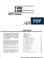 ADI at-200 400 User Manual