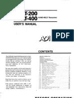 ADI at-200 400 User Manual
