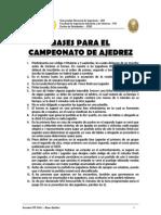 Semana FIIS 2007 - Deportes - Bases Ajedrez