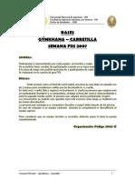 Semana FIIS 2007 - Gymkhana - Bases Carretilla