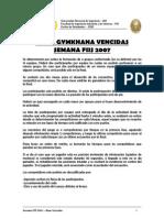 Semana FIIS 2007 - Gymkhana - Bases Vencidas