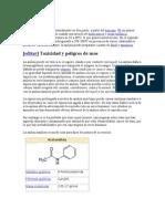 Producción de acetanilida
