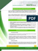 Consideraciones Para El Cierre Fiscal Ejercicio 2011