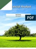 Financial Analyst CFA Study Notes: Derivatives Level 1