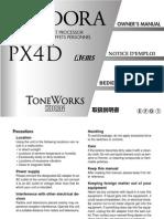 Pandor PX4D Manual