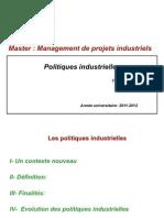 CH  Politiques industrielles définition et instruments