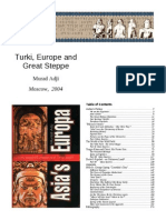 History of Turks, Europe and Great Steppe vol 1 Murad Adji