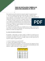 Manual Tecnico de Inst. Tub. Polipropileno Para Desagues Uf Tipo Ht