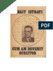 Istrati, Panait - Cum Am Devenit Scriitor v.1.0 MMXI