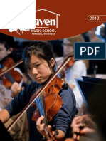 Kinhaven Music School Brochure Summer 2012