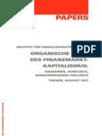 Institut Fuer Gesellschaftsanalyse - Organische Krise des Finanzmarktkapitalismus