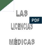 Licencias mÉdicas