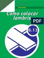 Colocação de Lambri