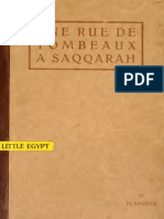 Capart - Une rue de tombeaux à Saqqarah vol.2