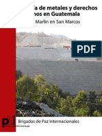 Informe Mineria GTM