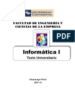 Informatica I Texto 2011-2