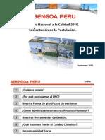 Abengoa Peru Sustentacion