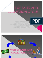 Audit of Sales and Collection Cycle