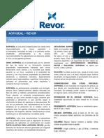 Fichas_acryseal_PINTURAS REVOR_Impermeabilizante de Muros Exteriores