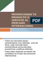 El Marketing-Mix Internacional