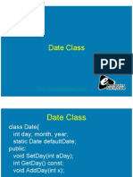 Computer Notes - Date Class
