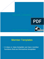 Computer Notes - Member Templates
