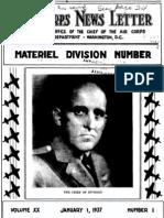 Air Force News ~ Jan-Apr 1937
