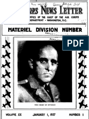 Air Force News ~ Jan-Apr 1937 | United States Army Air Corps