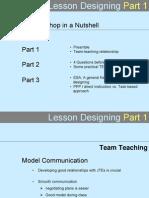 Lesson Designing (Ppt)