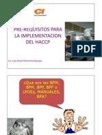 Pre Requisitos Sistema Haccp