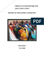 Ncf Adult Education MHRD Doc by Vijay Kumar Heer