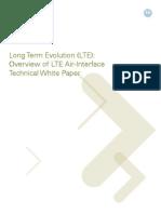 LTE Air Interface White Paper