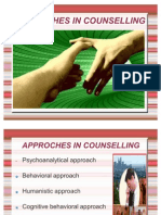 4. Approaches in Counselling (1)