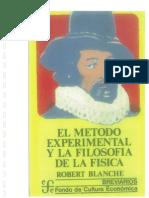 El Metodo Experimental y La Filosofia de La Fisica
